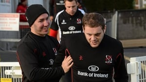 Paddy Wallace and Darren Cave were a great combination for Ulster