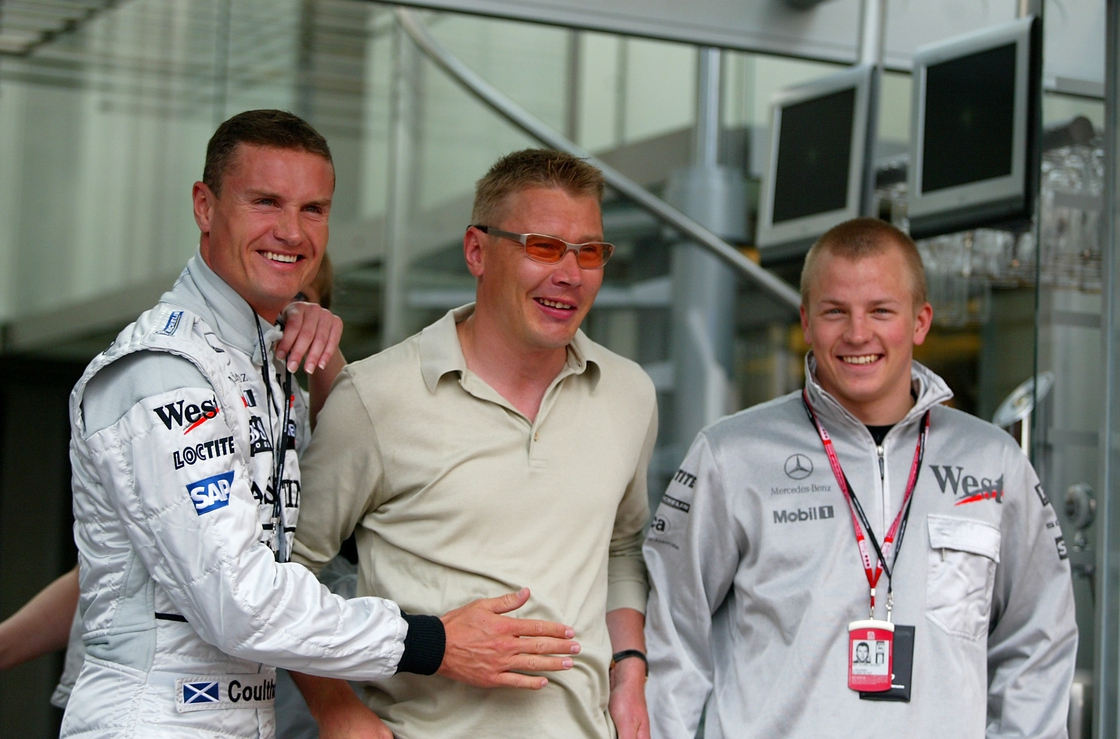 Image - Coulthard with Hakkinen (c) and Raikkonen