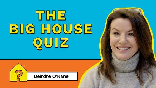Deirdre O'Kane keeps radio DJs Keith Walsh and Pamela Joyce in check.