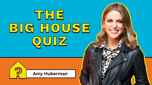 Amy Huberman steps up as quiz master for episode 3 of The Big House Quiz