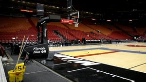 For now, the courts remain empty