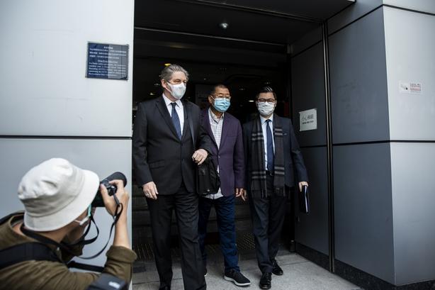 Hong Kong police arrest Democratic Party leader