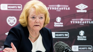Hearts owner Ann Budge