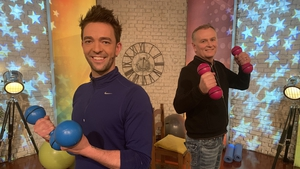 A new daily fitness show from Ray Lally, the Today Show fitness expert, and Dáithí Ó Sé is coming to RTÉ One.