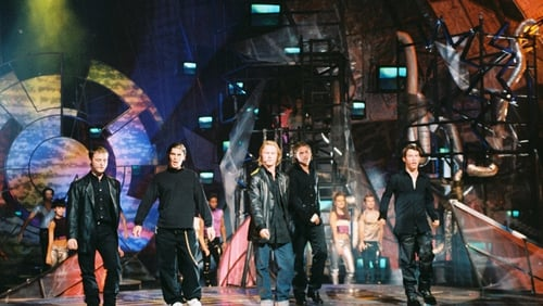 Boyzone delivered a memorable interval performance from the 1997 Eurovision Song Contest