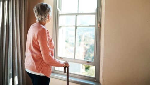 Staffing is about to become a greater problem in residential care homes (file pic)