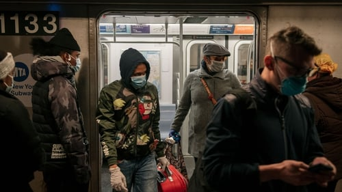 The wearing of masks on the subway was becoming ubiquitous, but it's now mandatory