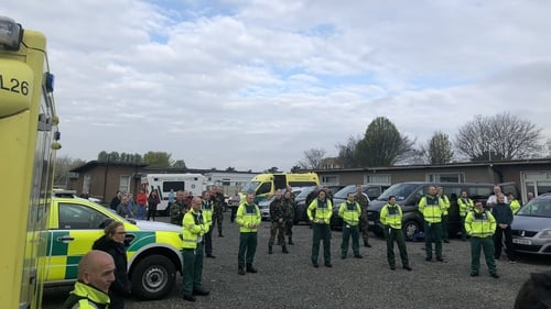 Staff from the National Ambulance Service, medics from the Defence Forces and healthcare workers from the HSE will be visiting residential care facilities to conduct testing