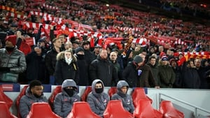 More than 3,000 Spanish fans made the trip to Liverpool for the game
