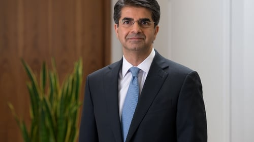 Tullow Oil's chief executive Rahul Dhir