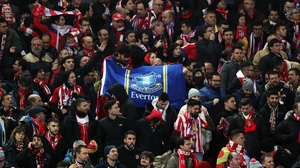 3,000 Atletico Madrid fans travelled to Liverpool just before football in England was suspended
