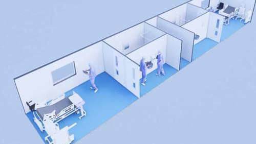 MediPods provide a fast, flexible solution for modular and on-demand medical workspaces to support the healthcare sector