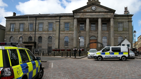 The man and woman appeared at Omagh Magistrates' Court (File pic)