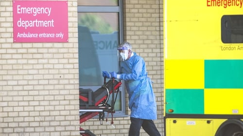 UK figures show 17,337 people have died in hospitals due to Covid-19