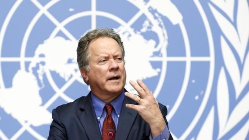 WFP executive director David Beasley