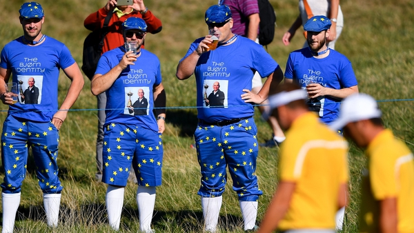 It wouldn't be worth playing without lads like these, reckons Rory McIlroy