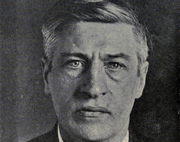 Jim Larkin when he was arrested in New York in November 1919. Photo: Revolutionary radicalism: its history, purpose and tactics, volume I, part 1, p. 680 via Internet Archive