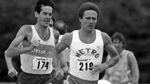 Eamonn Coghlan was a standout figure in world athletics for nearly a decade