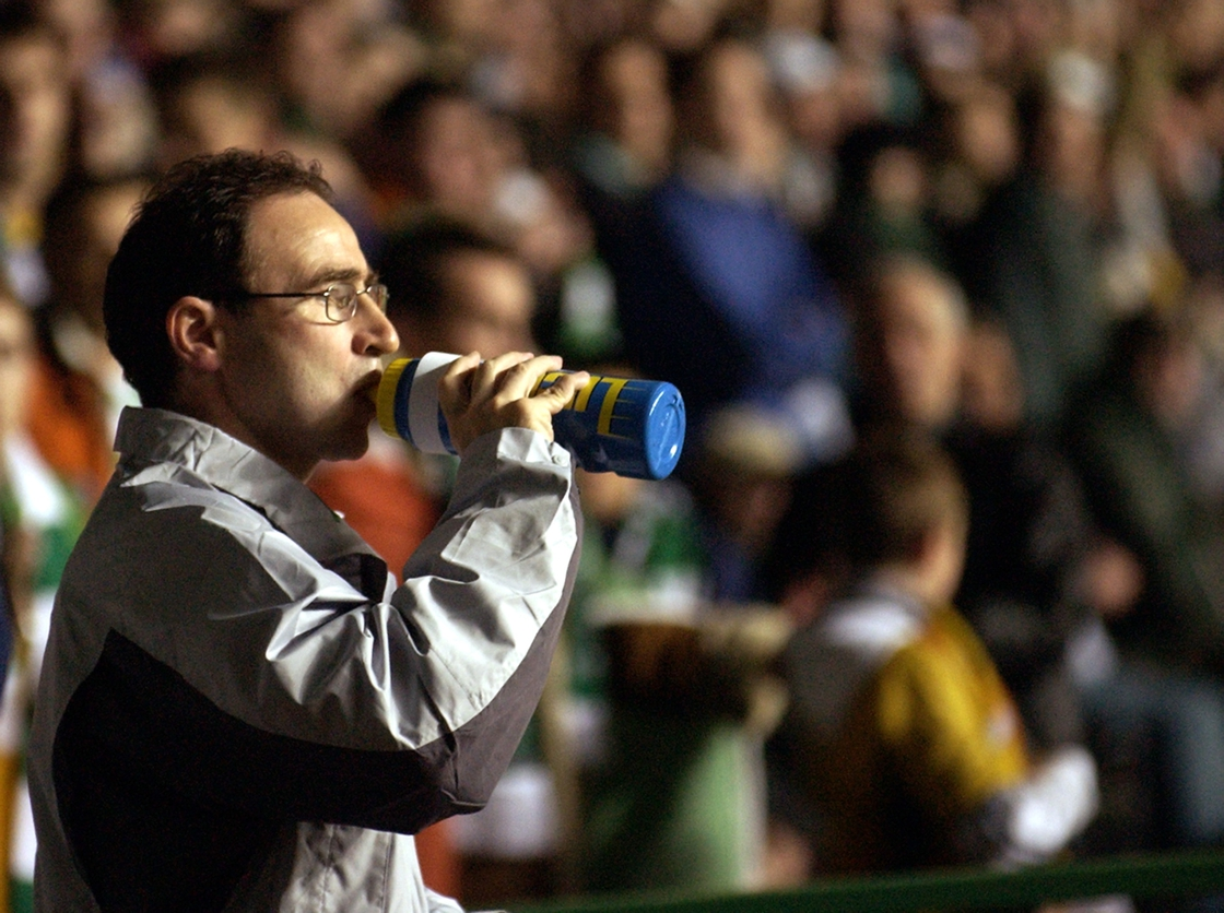Image - Martin O'Neill at Celtic in 2002