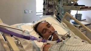 Mark Burke developed complications associated with Covid-19 and became seriously ill
