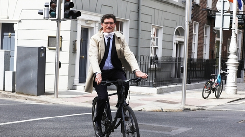 Eamon Ryan is calling for more investment in infrastructure for cycling and walking (Pic: RollingNews.ie)