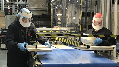 The first batch of one million went into production this week