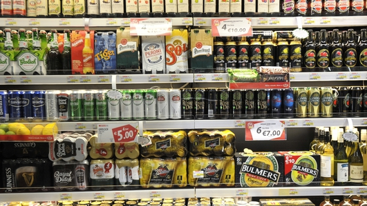 Alcohol sales up 93% in May as grocery sales leap