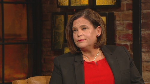 Mary Lou McDonald said: 'I could not believe this virus came into my house'