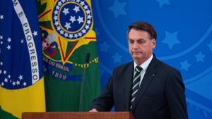 Brazil's President Jair Bolsonaro said Sergio Moro's accusations were 'unfounded'
