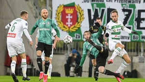 Lechia Gdansk hosted Legia Warsaw just before the suspension