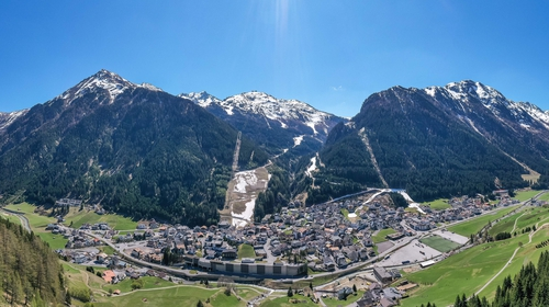 Ischgl is popular with tourists