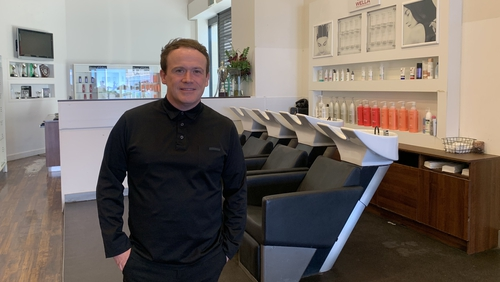 President of the Irish Hairdressers Federation David Campbell said they have requested a meeting with the Minister for Business Heather Humphreys