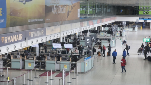 Dublin and Cork airport numbers are down by 99% due to Covid-19