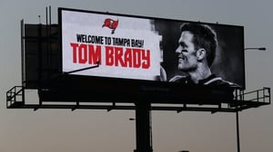 Tom Brady did get a warm welcome to Florida when he signed for Tampa