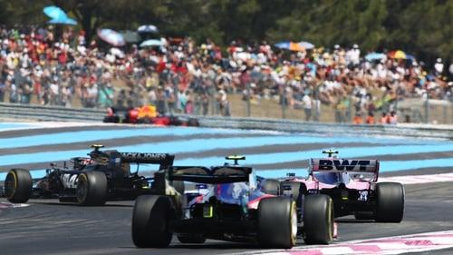 The 2020 Formula 1 season will start in July