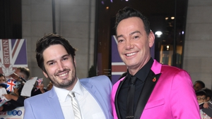 Craig Revel Horwood and his partner Jonathan Myring