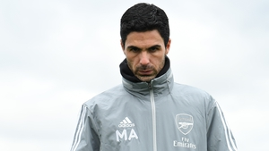Mikel Arteta was diagnosed with the coronavirus last month