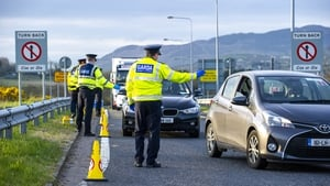 Gardaí say checkpoints will be set up throughout the county