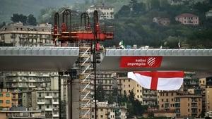 The Italian Prime Minister said that the new bridge symbolises the 'whole of Italy'