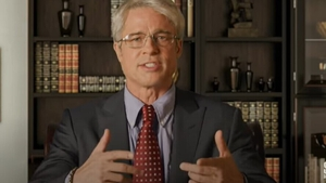 Brad Pitt explains things as Dr Fauci Screengrab: Saturday Night Live