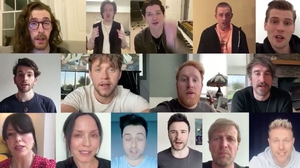 A host of Irish musicians virtually came together to spread an important message