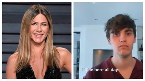 Jennifer Aniston and JC Stewart