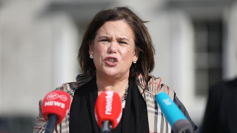 Mary Lou McDonald said Tánaiste Leo Varadkar had 'additional questions to answer'