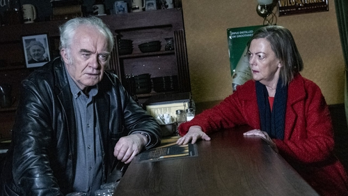 Angela is furious this week with Tadhgh when she finds out there is no money. Irish speakers can be in with a chance to become involved in Ros na Rún's 25th season...