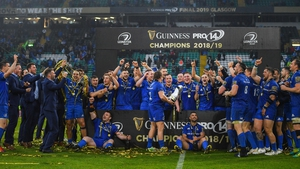 Leinster won their second Pro14 title in a row last May