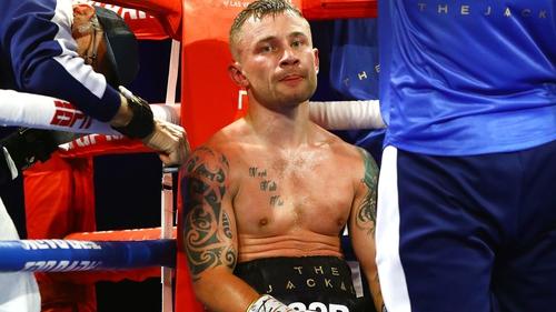 Carl Frampton stops Darren Traynor with seventh-round TKO