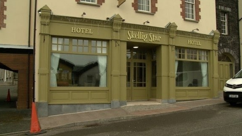 The direct provision centre was opened at the Skellig Star hotel
