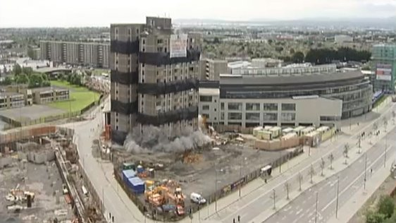 Ballymum Tower Demolition