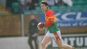 Ray Walker in action for Carlow