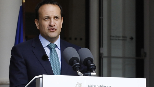 Leo Varadkar has been staying in Steward's Lodge on the Farmleigh Estate, his spokesperson said